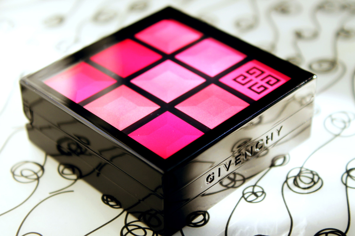 Givenchy Lip & Cheek Palette_Givenchy Le Prismissime Euphoric Pink lip cheek palette