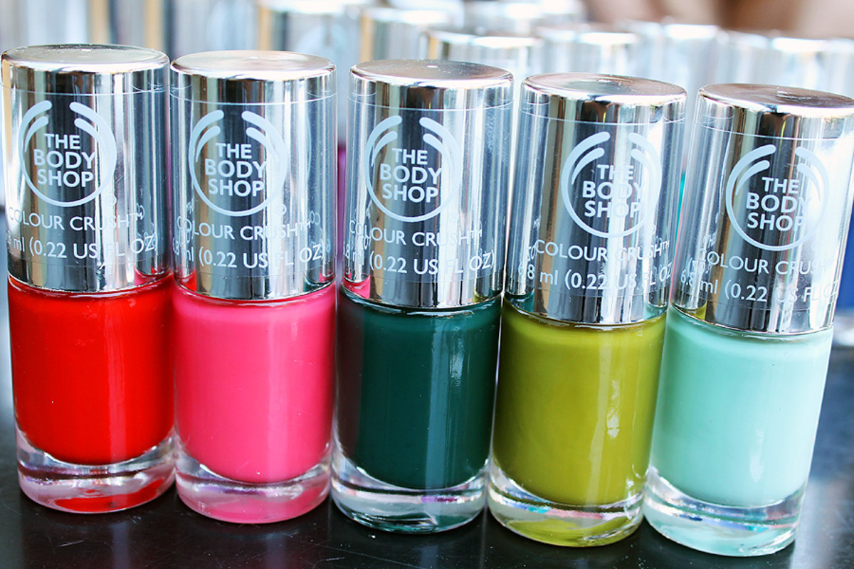 The Body Shop nail polish_The Body Shop Colour Crush nail polish Fall 2014 picks