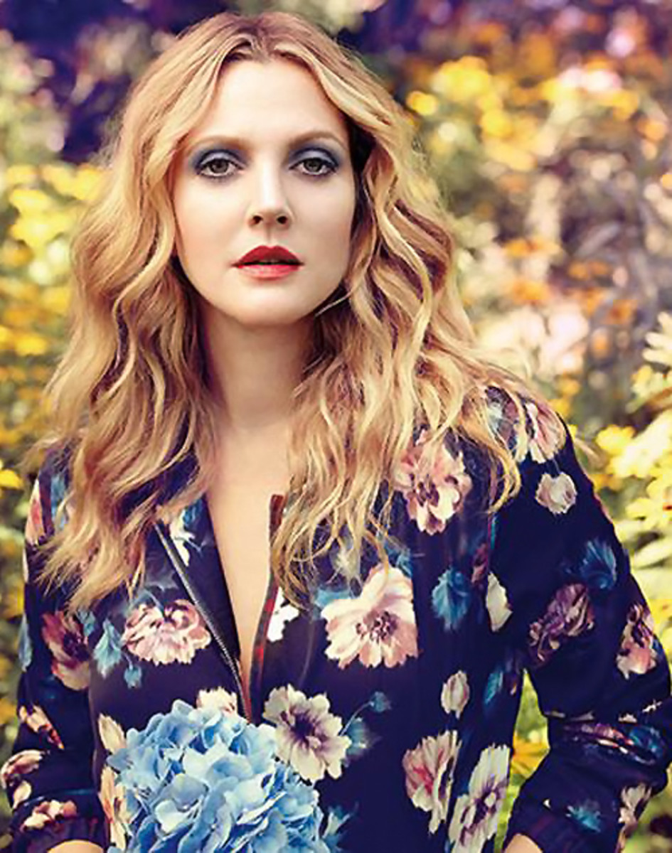 Drew Barrymore_Flower Beauty now in Canada_Fall 2014