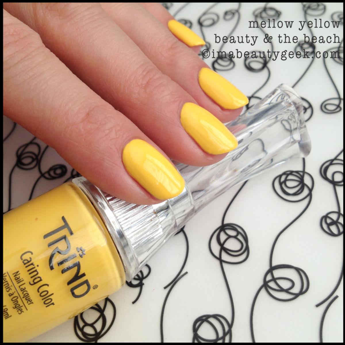 Trind Polish Mellow Yellow