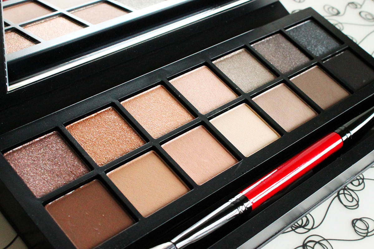 Smashbox Full Exposure eye shadow palette_neutrals