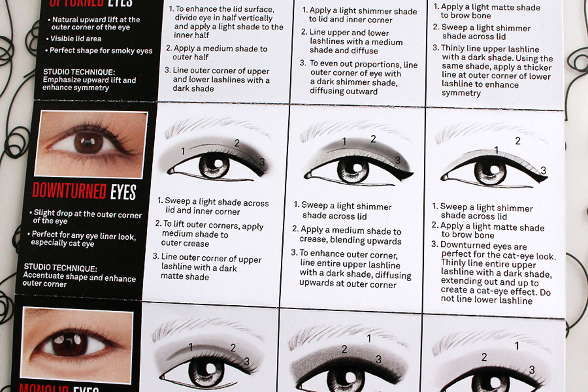 how to apply eye shadow for downturned eyes_Smashbox Full Exposure Palette
