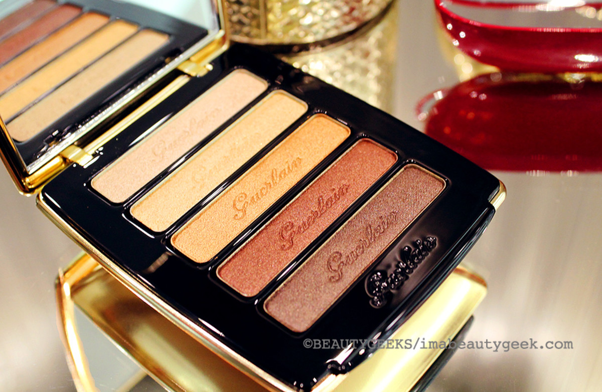 Guerlain holiday 2014: Petrouchka Eye & Blush Palette