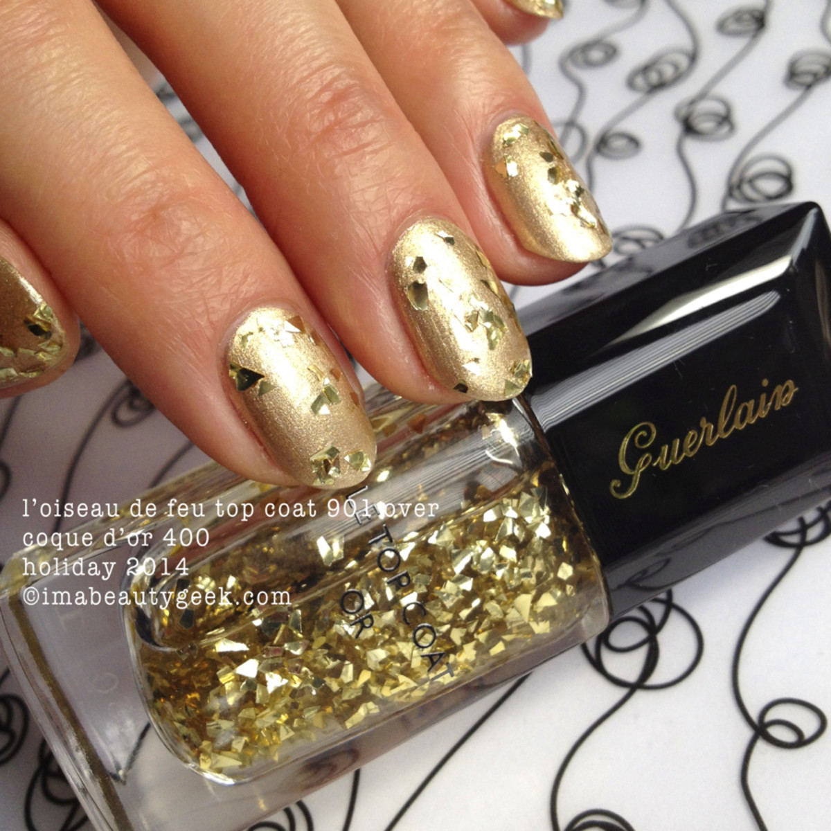 Guerlain Holiday 2014: La Laque Couleur Coque d'Or