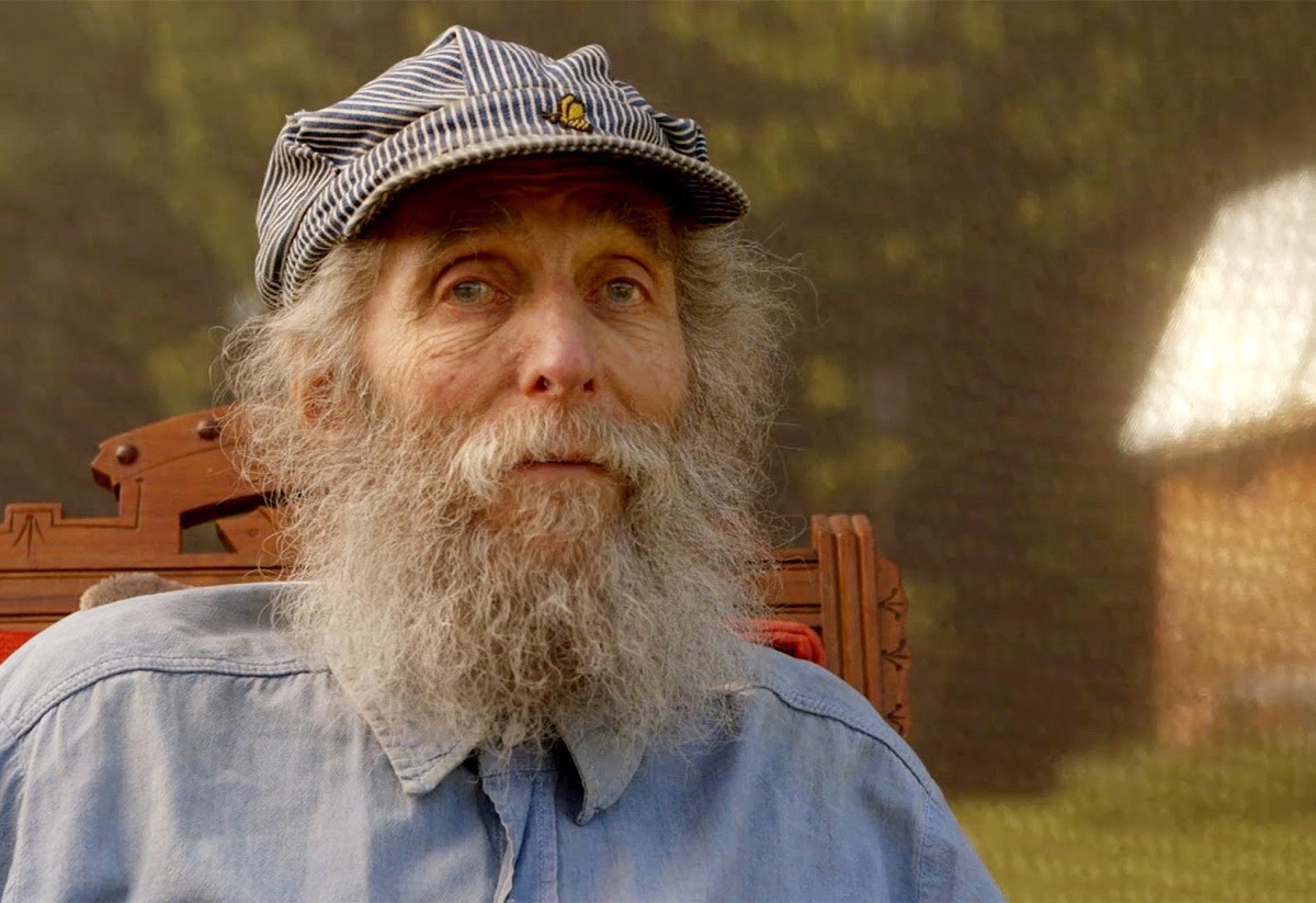 Burt Shavitz in a still from the docu-film Burt's Buzz