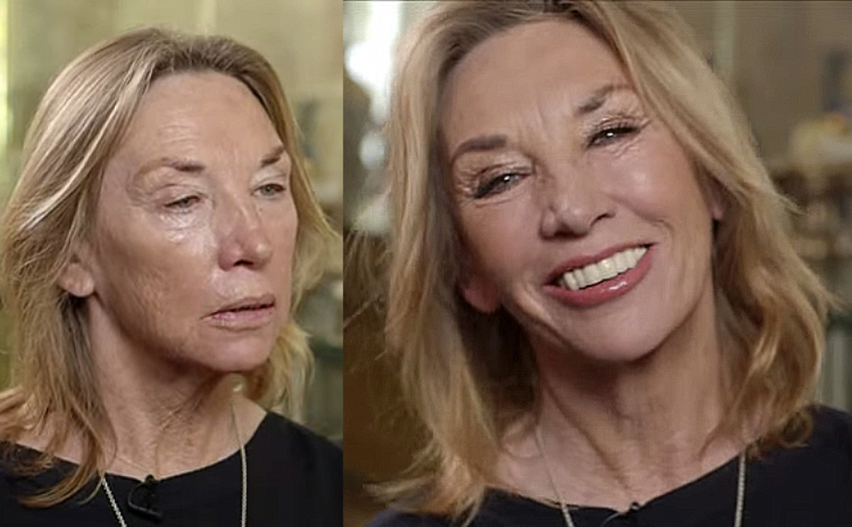 Charlotte Tilbury's mom is 65+ and looks gorgeous in shimmery shadow