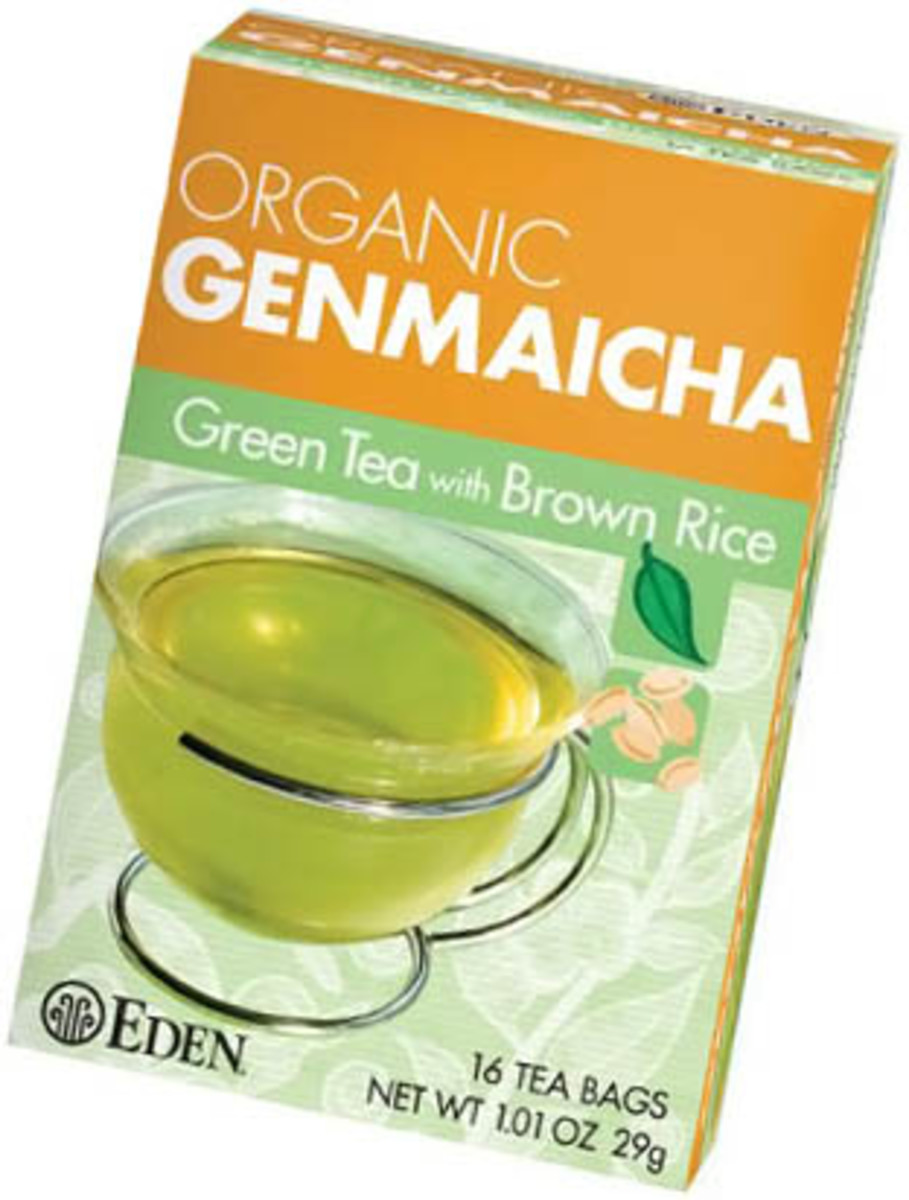 Eden Green Tea with Brown Rice