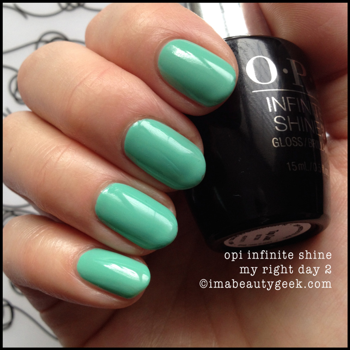 OPI Infinite Shine Review Withstands the Test of Thyme