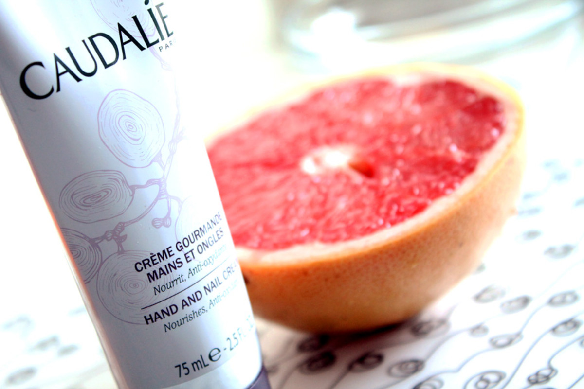 Caudalie Hand and Nail Cream_grapefruit heaven