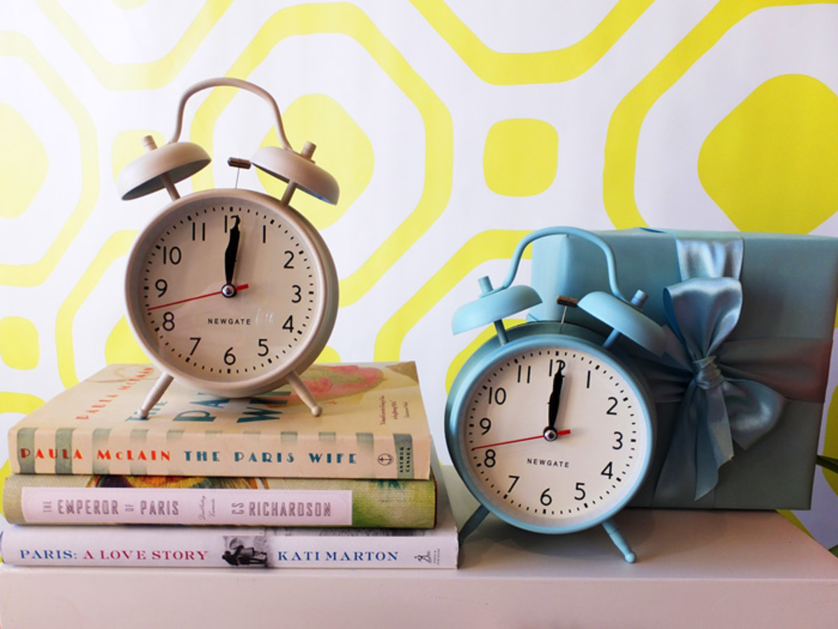 BEAUTYGEEKS: Indigo Spring 2013_cute vintage-inspired clocks
