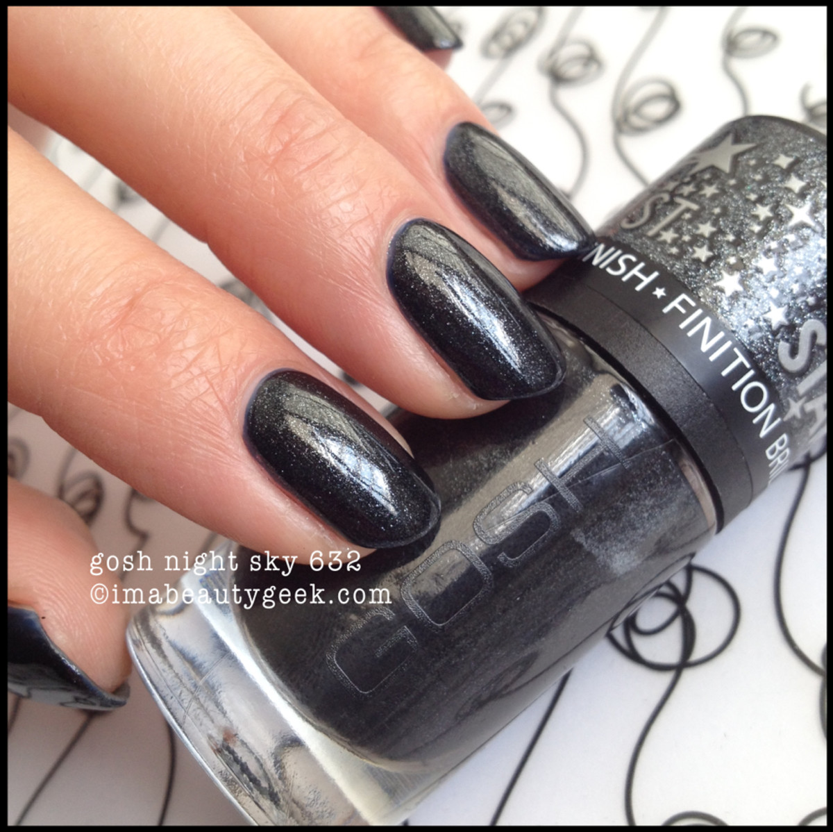 Gosh Polish Night Sky 632 2014beautygeeks