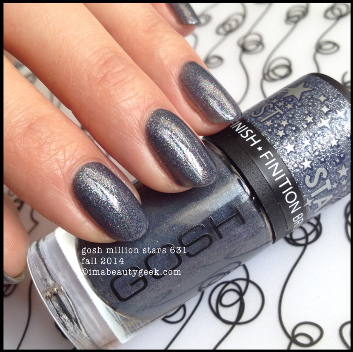 Gosh Polish Million Stars 631 2014Beautygeeks