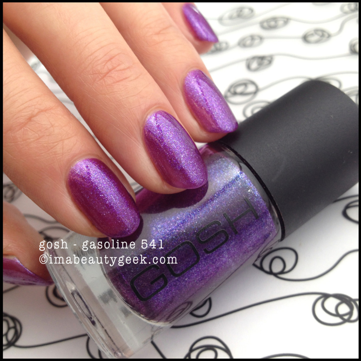 Gosh Polish Gasoline 541 2014 Beautygeeks