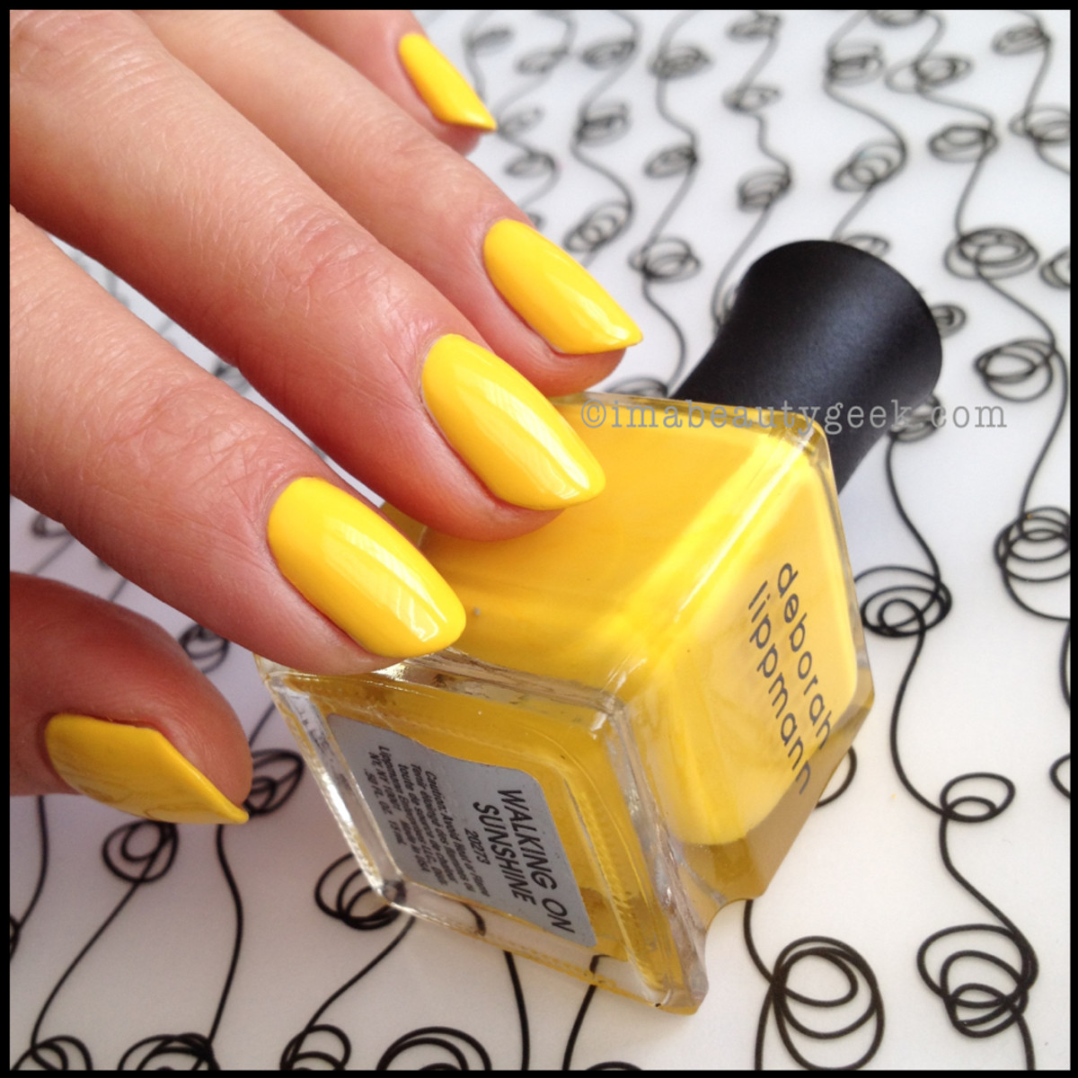 Deborah Lippmann Walking on Sunshine 80's Rewind