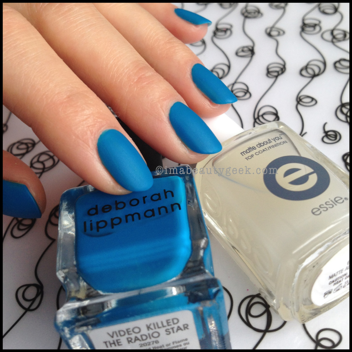 Deborah Lippmann Video Killed the Radio Star Essie Matte About You