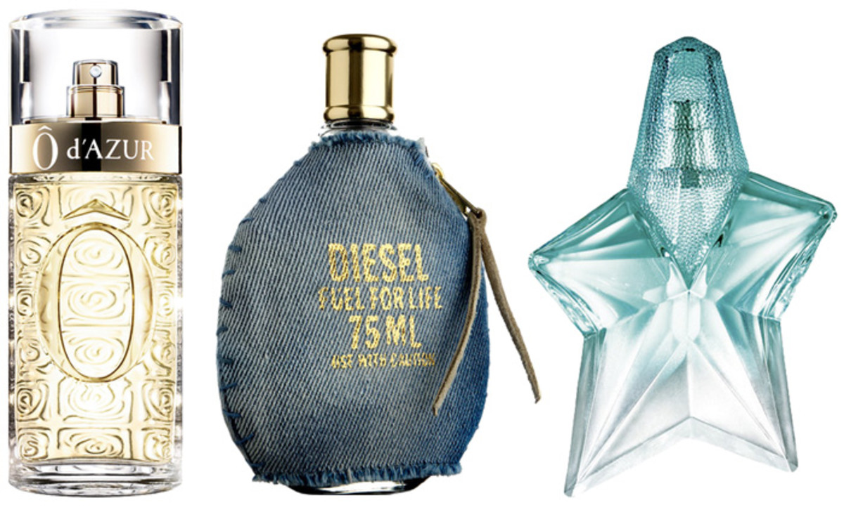 Best summer fragrances: Ô d'Azur, Diesel Fuel for Life, Angel
