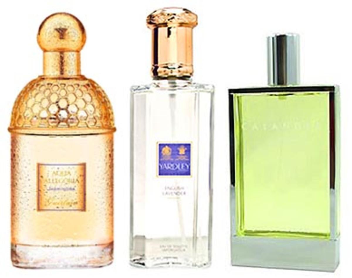 Best summer fragrances: Guerlain Aqua Allegoria Jasminora, Yarley English Lavender, Calandre by Paco Rabane