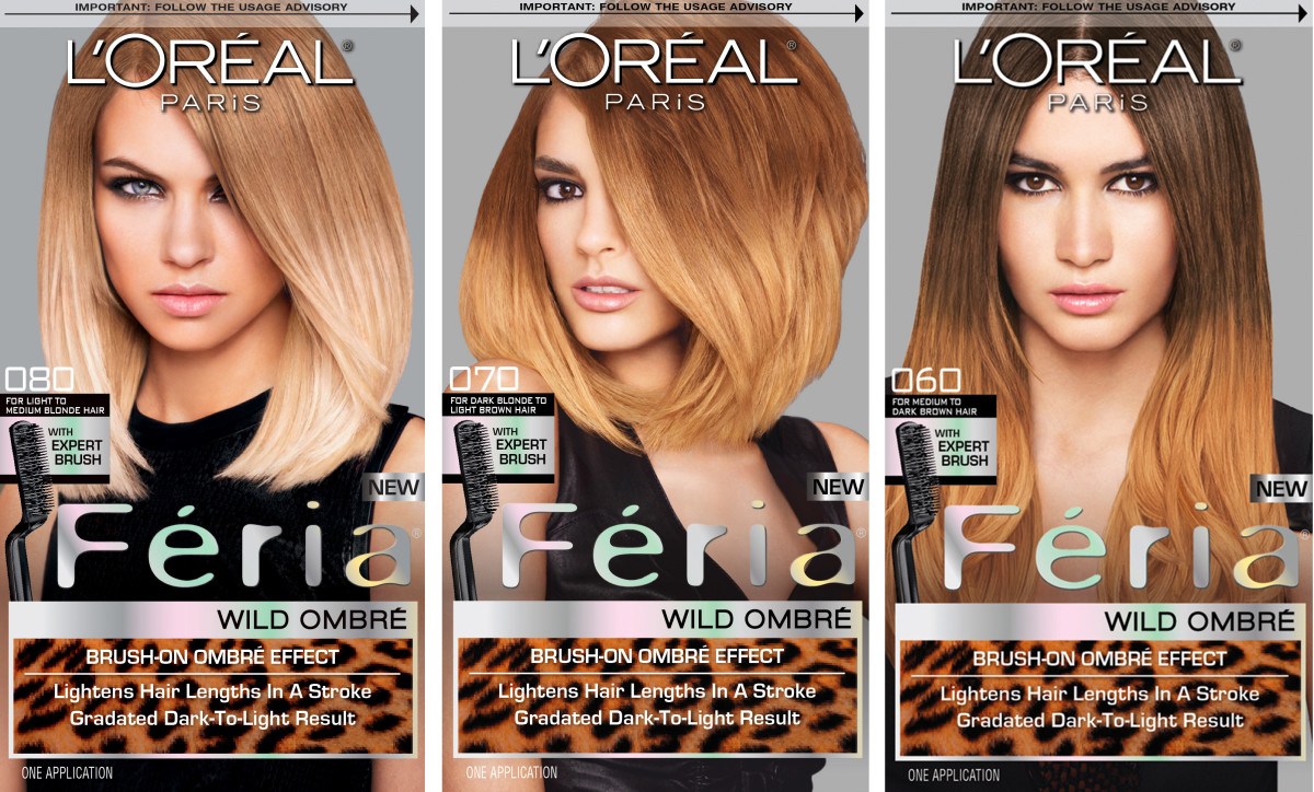 Ombr hair at home loral paris prfrence wild ombr haircolour loral paris fria wild ombr solutioingenieria Choice Image