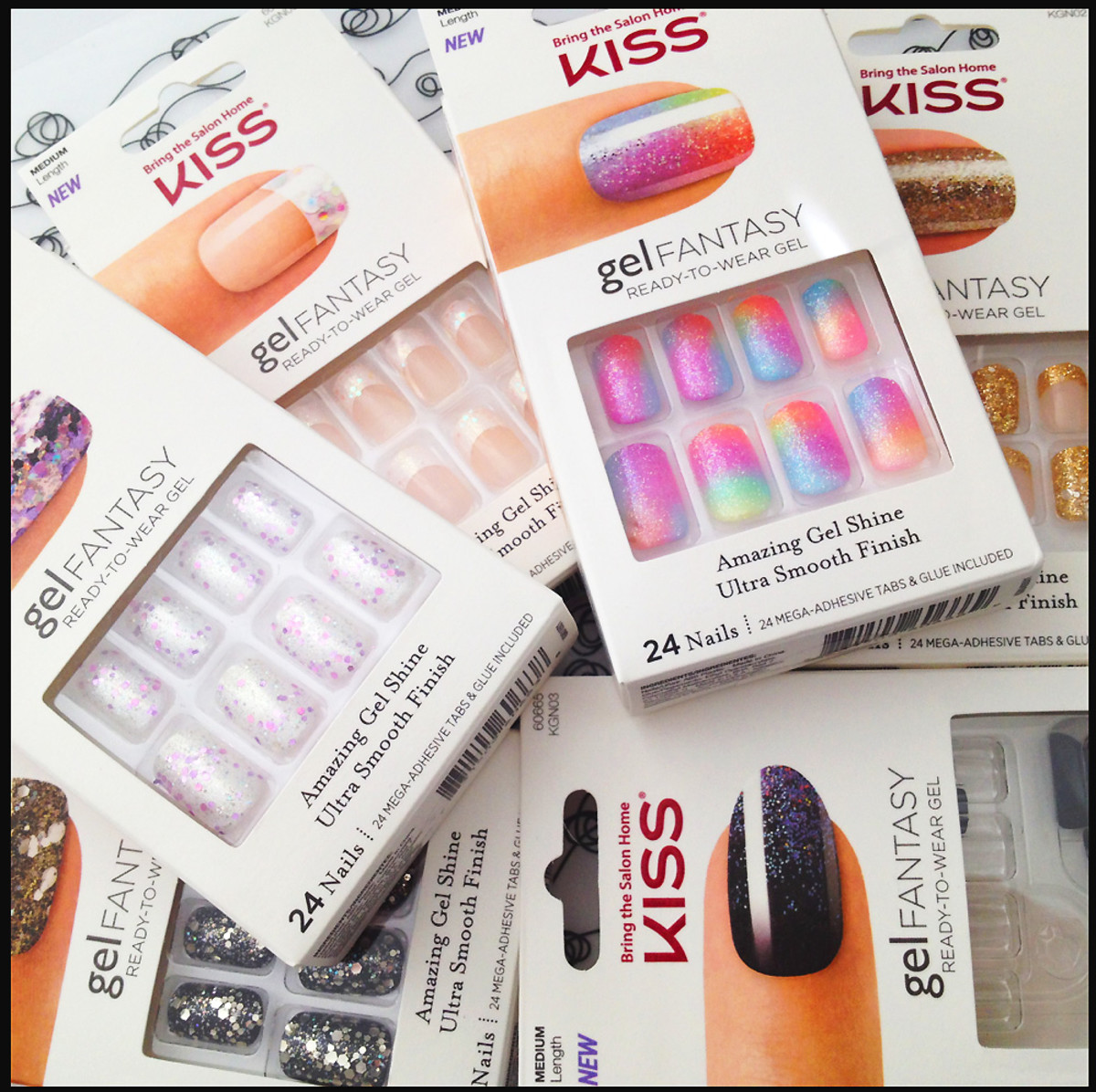 Kiss Gel Fantasy Ready-to-Wear Gel nail kits