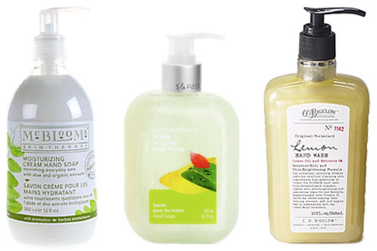 moisturizing soaps