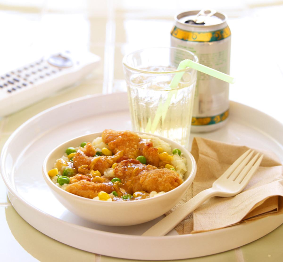 Jenny Craig Cheesy Potatoes and Chicken_I call it a KFC bowl_BEAUTYGEEKS_imabeautygeek.com