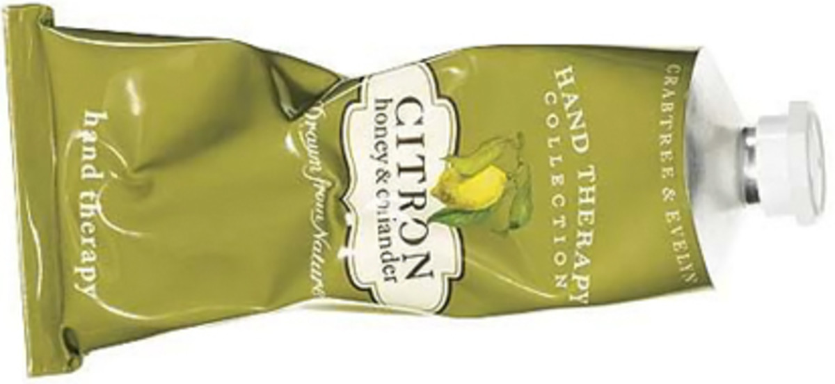 Crabtree & Evelyn Citron Honey & Coriander Hand Therapy $18