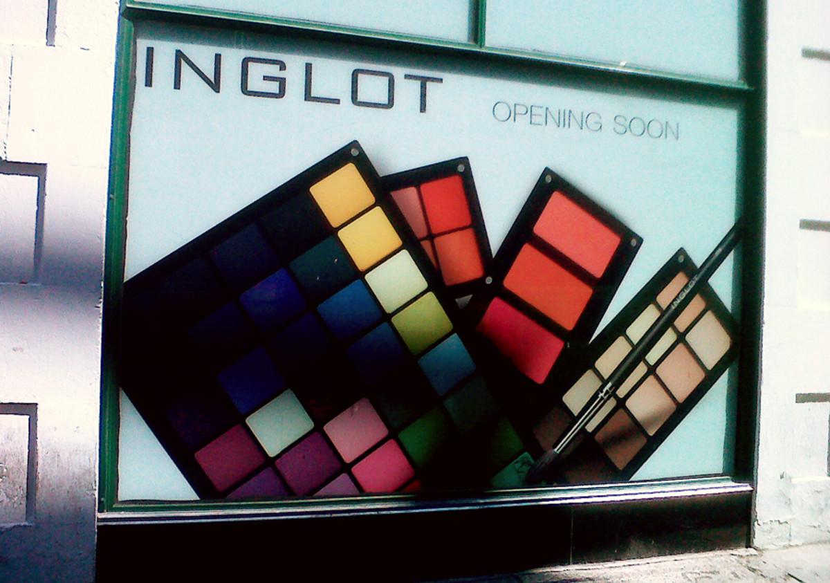 Inglot's Toronto location