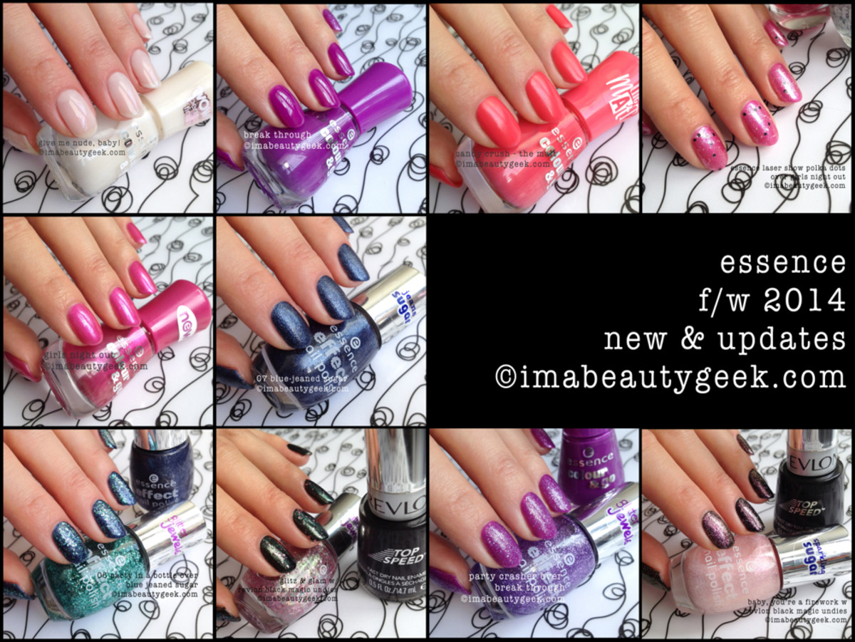 Essence FW 2014 compilation beautygeeks