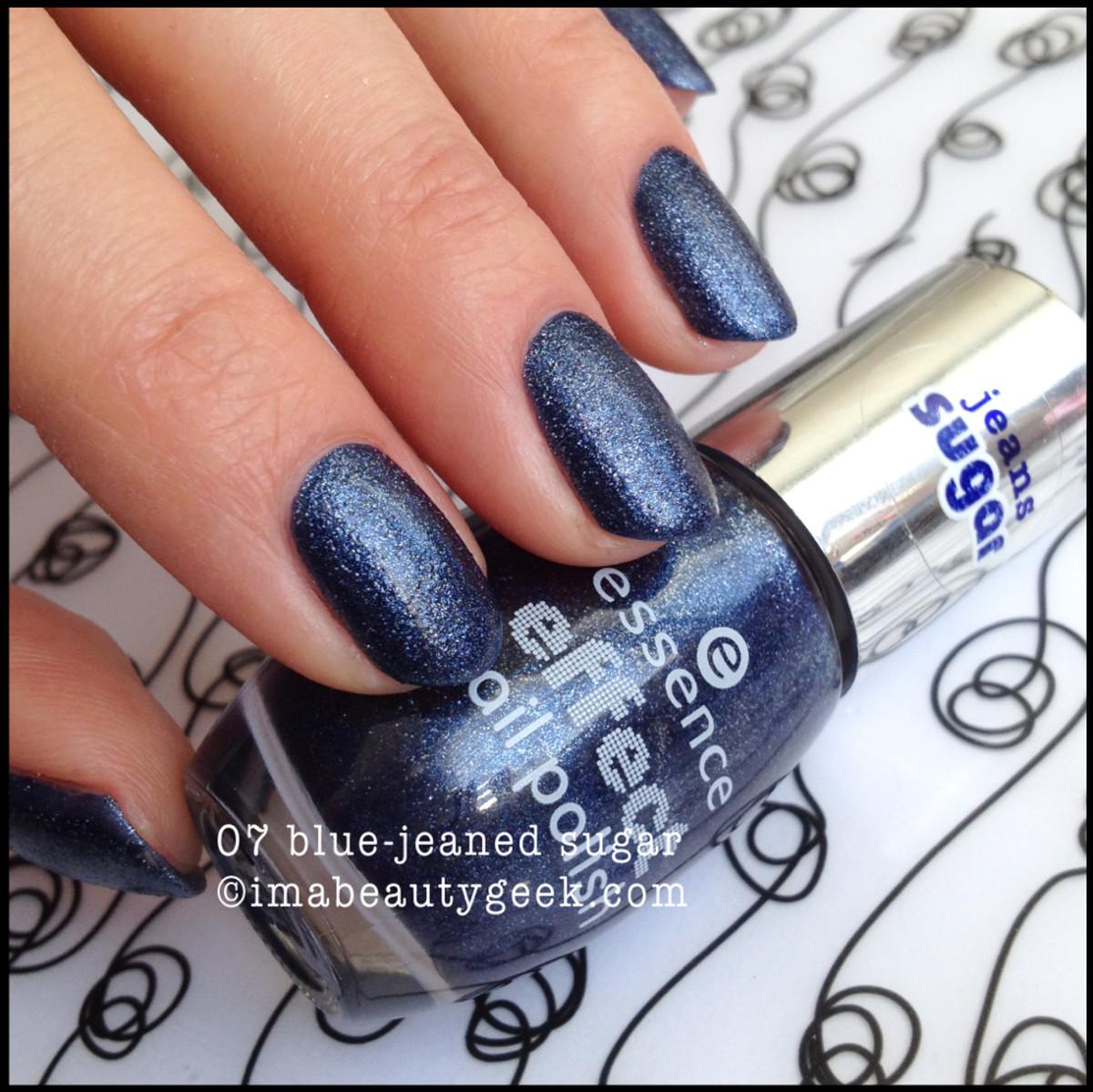 Essence Polish Blue Jeaned Sugar