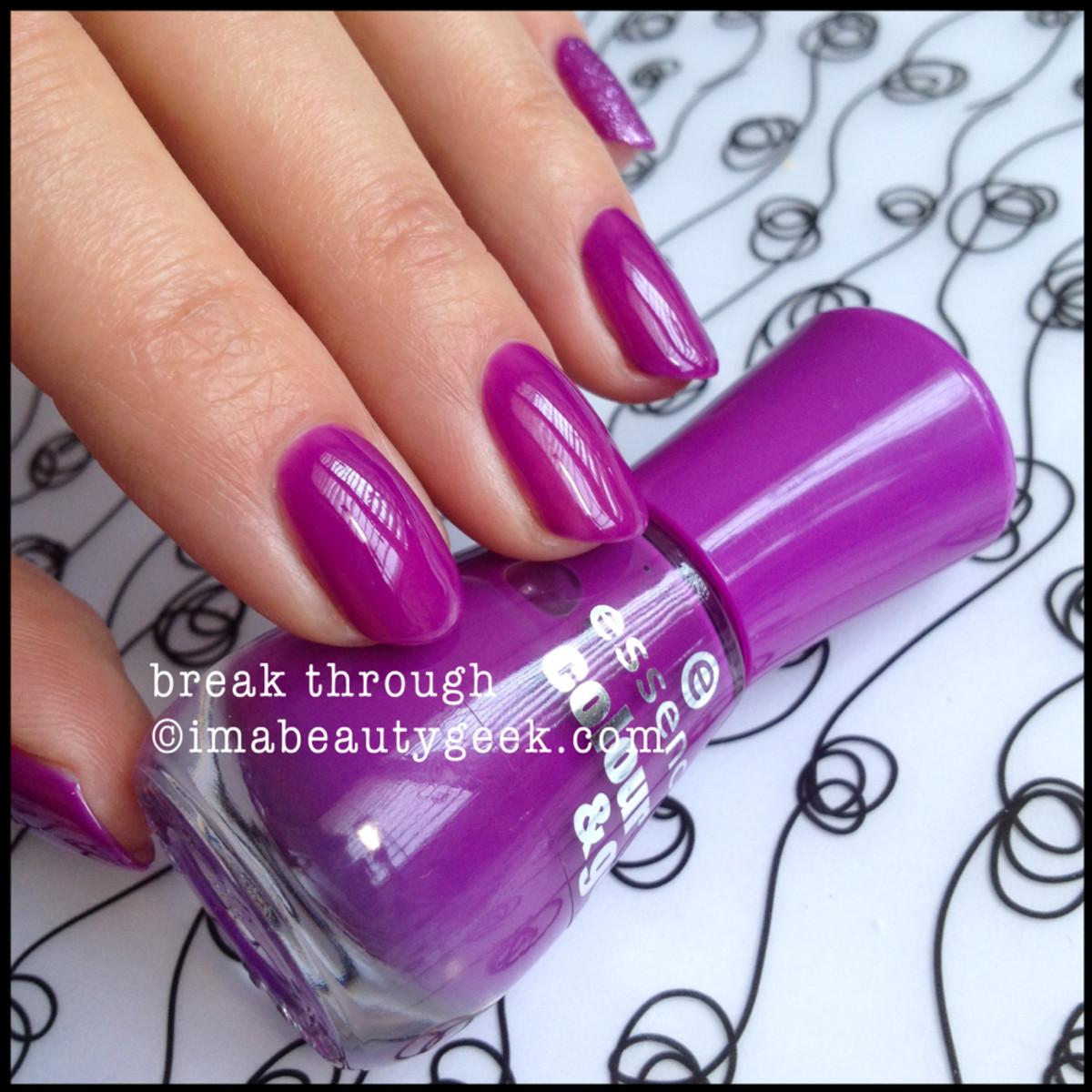 Essence Polish Break Through Color Go
