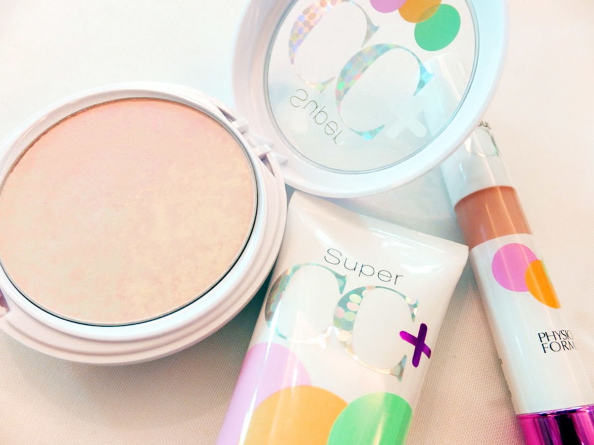 Physicians Formula Super CC Colour Correction + Care Powder Cream and Concealer