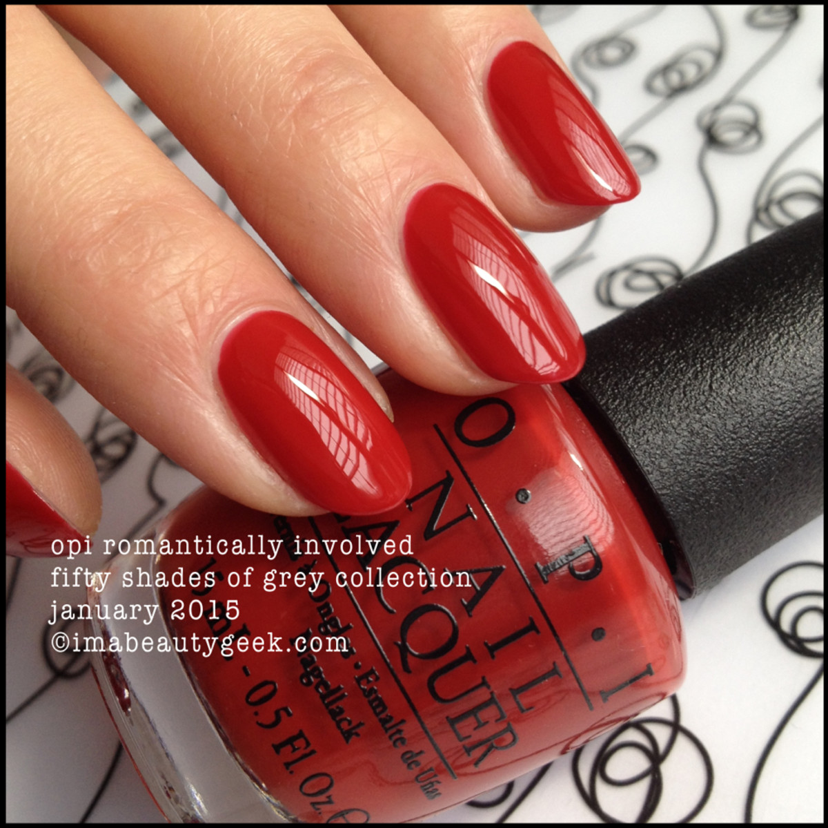 OPI Romantically Involved 50 Shades