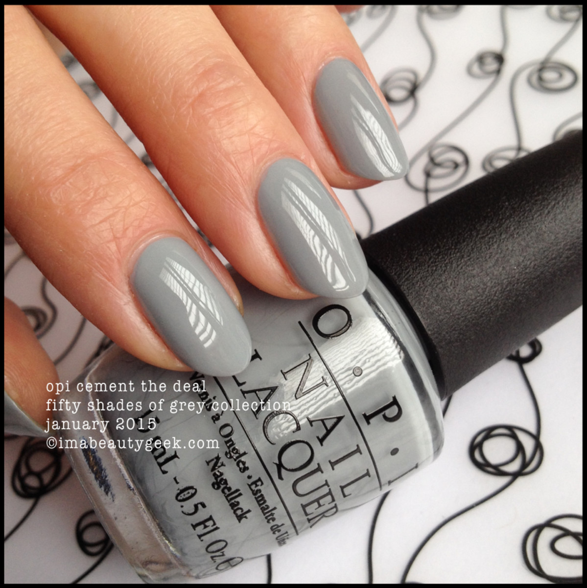 OPI FIFTY SHADES OF GREY, THE LIMITED-EDITION COLLECTION SWATCHED ...