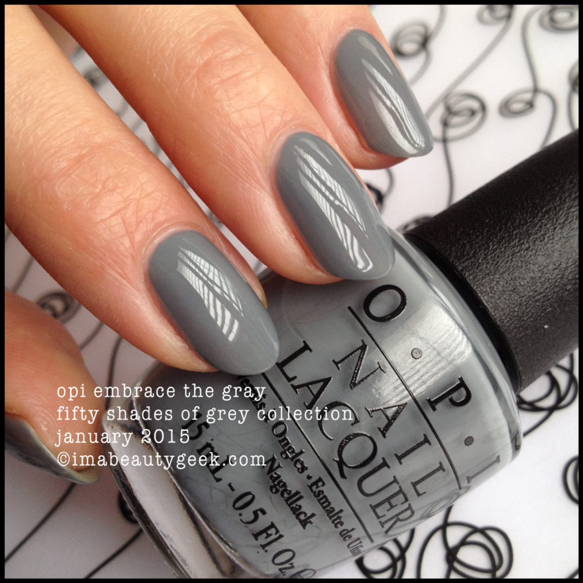 OPI Embrace the Grey