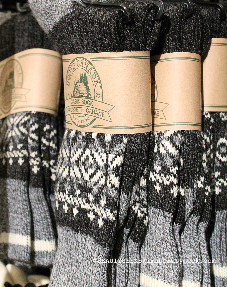 Roots Cabin Socks fair-isle pattern