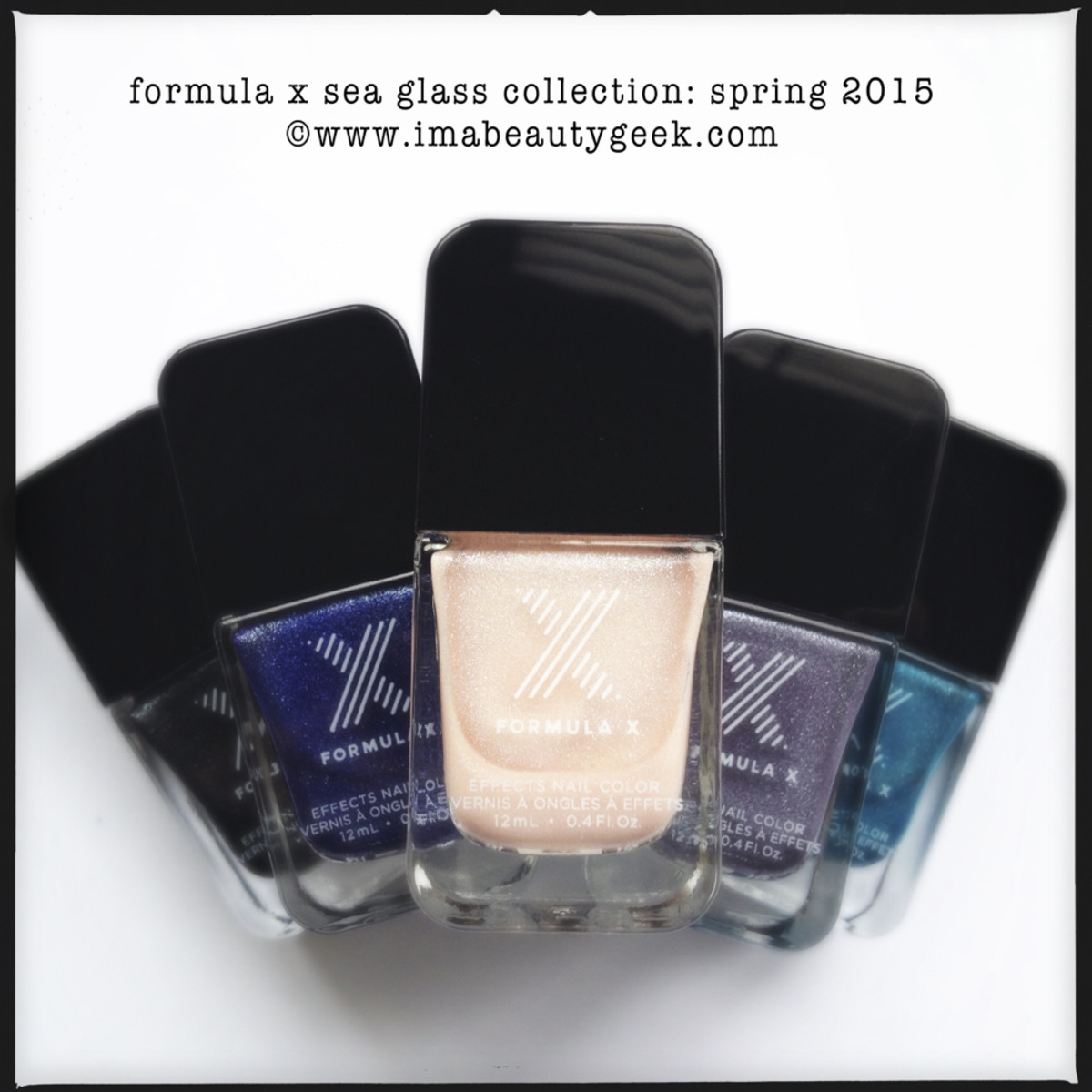 Formula X Sea Glass Collection Spring 2015