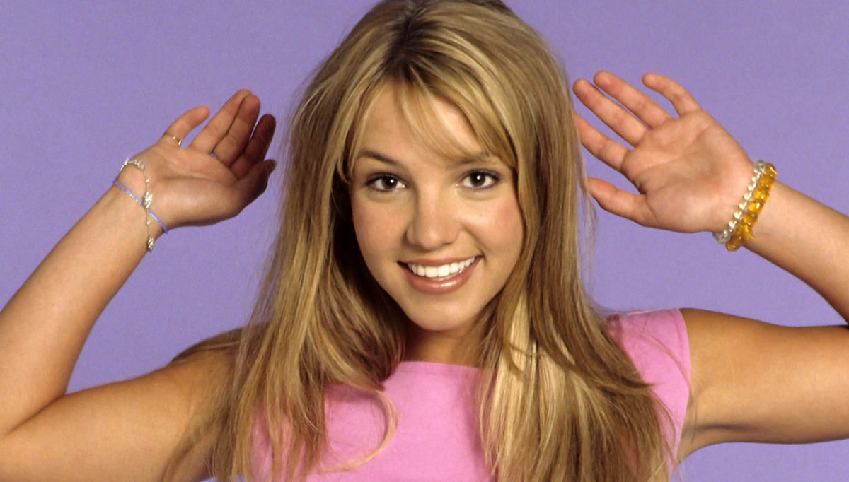 Britney Spears and her cute-as-a-button nose in 1999.