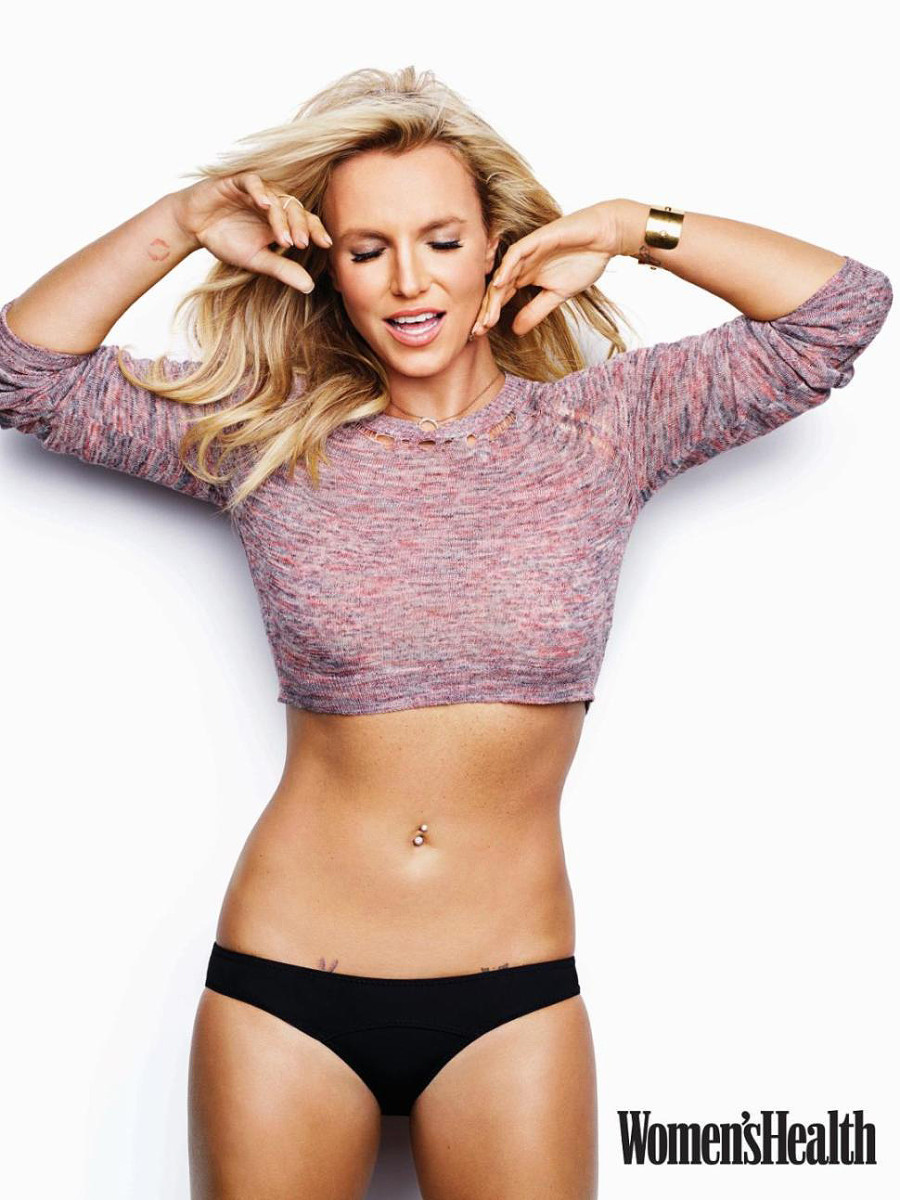 Britney Spears and her sculpted? nose in 2014.