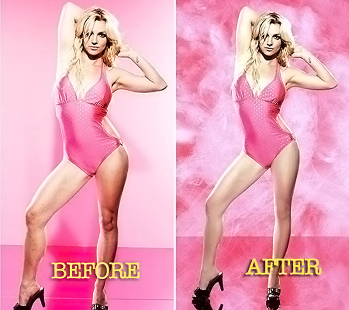 Remember when Britney released these photos?