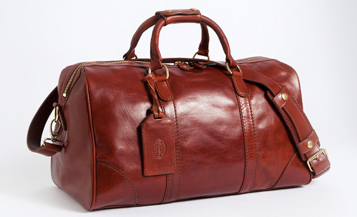 ROOTS BAGS PRESTIGE LEATHER_HORWEEN SMALL BANF BAG