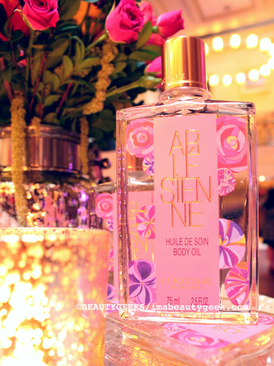L'Occitane Arlesienne Body Oil ©imabeautygeek.com