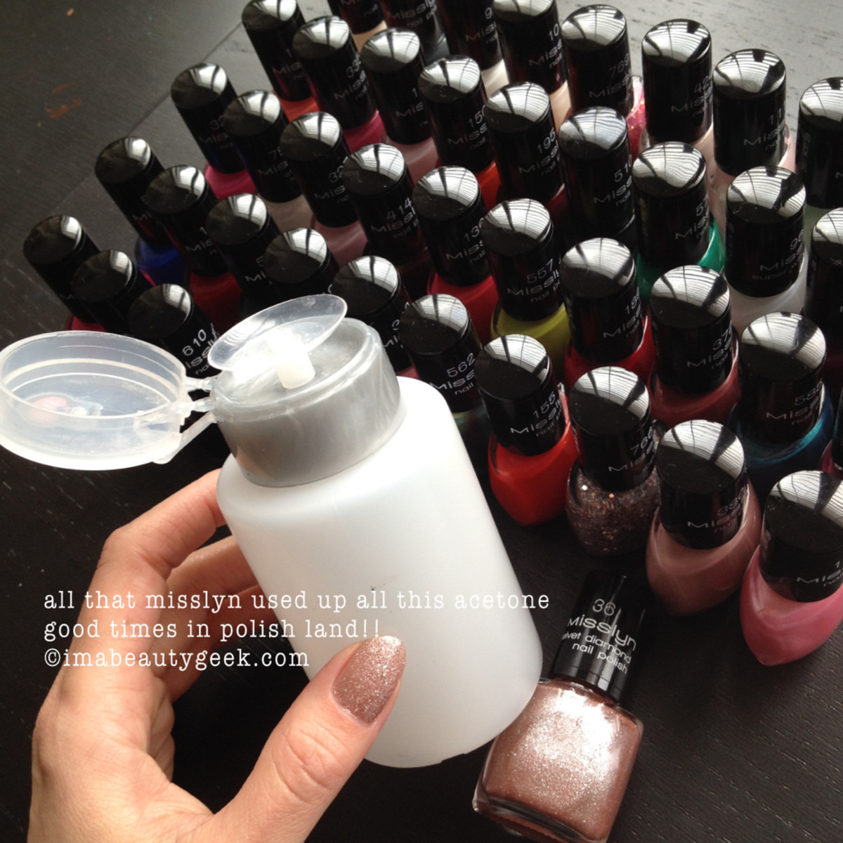 Misslyn Nail Polish Swatches