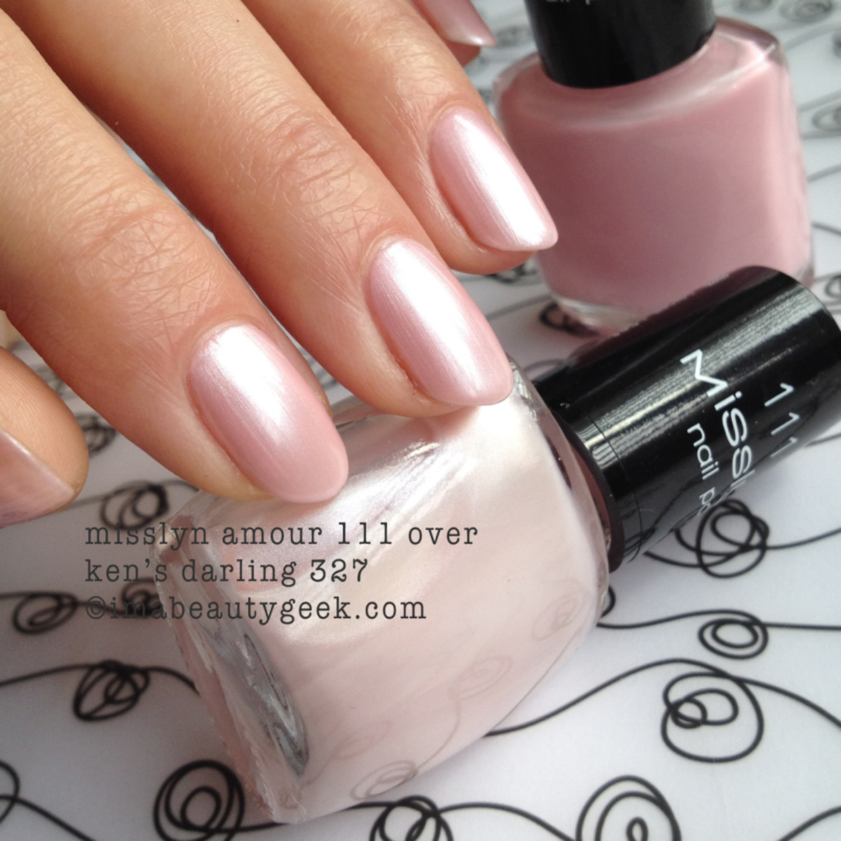 misslyn amour 111 nail polish
