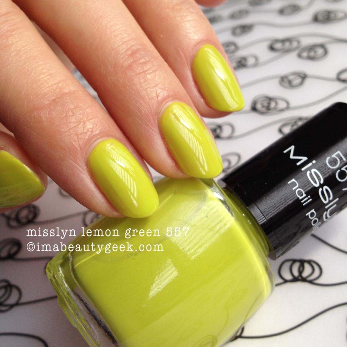 Misslyn Lemon Green 557