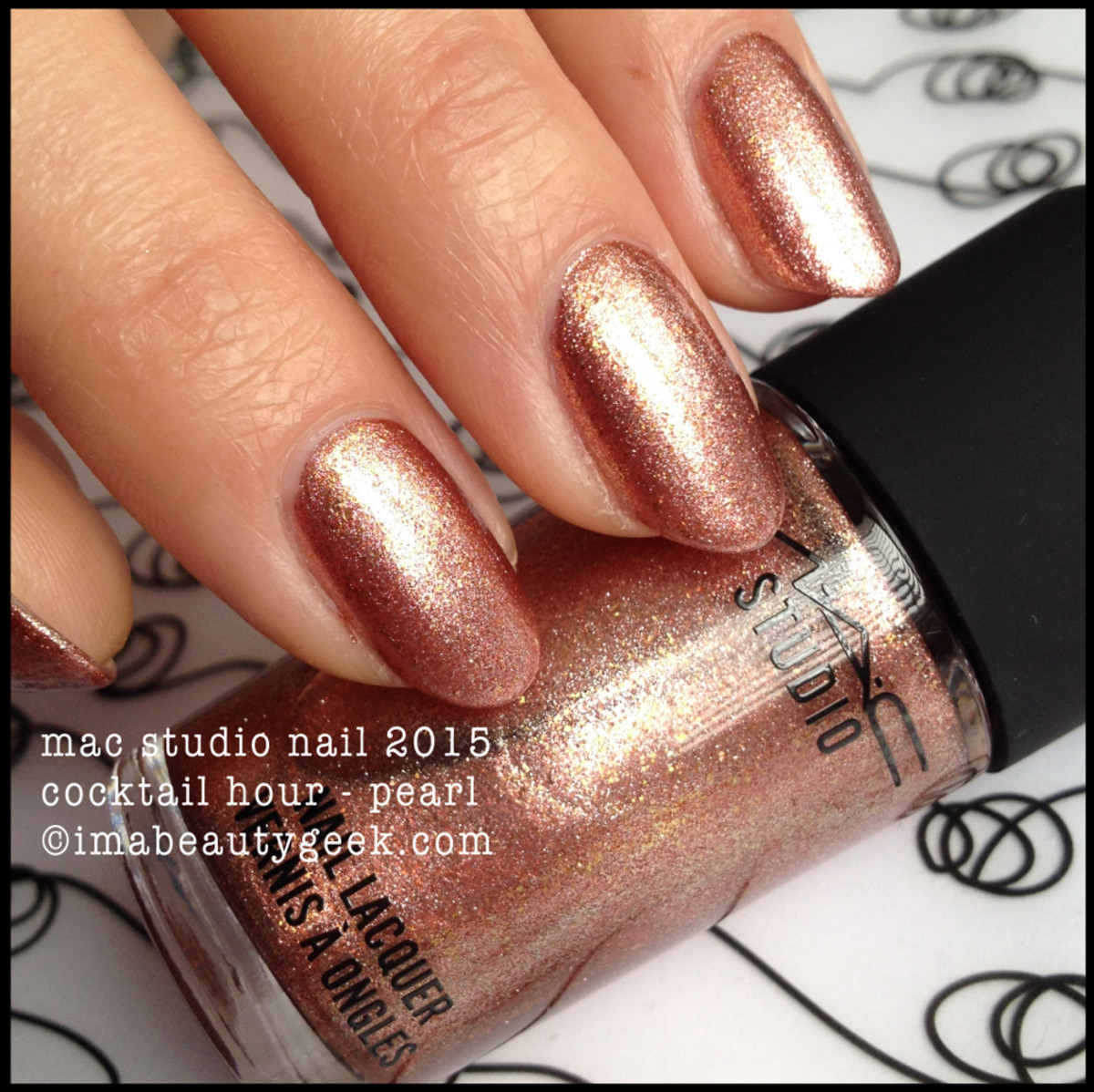 MAC Cocktail Hour Nail Polish 2015