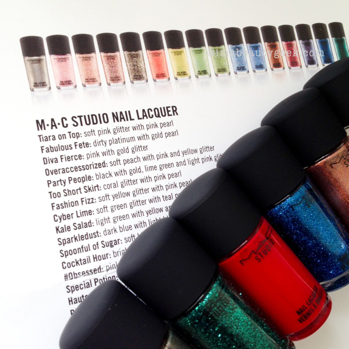 MAC STUDIO NAIL LACQUER 2015: IT\'S GOOD. - Beautygeeks