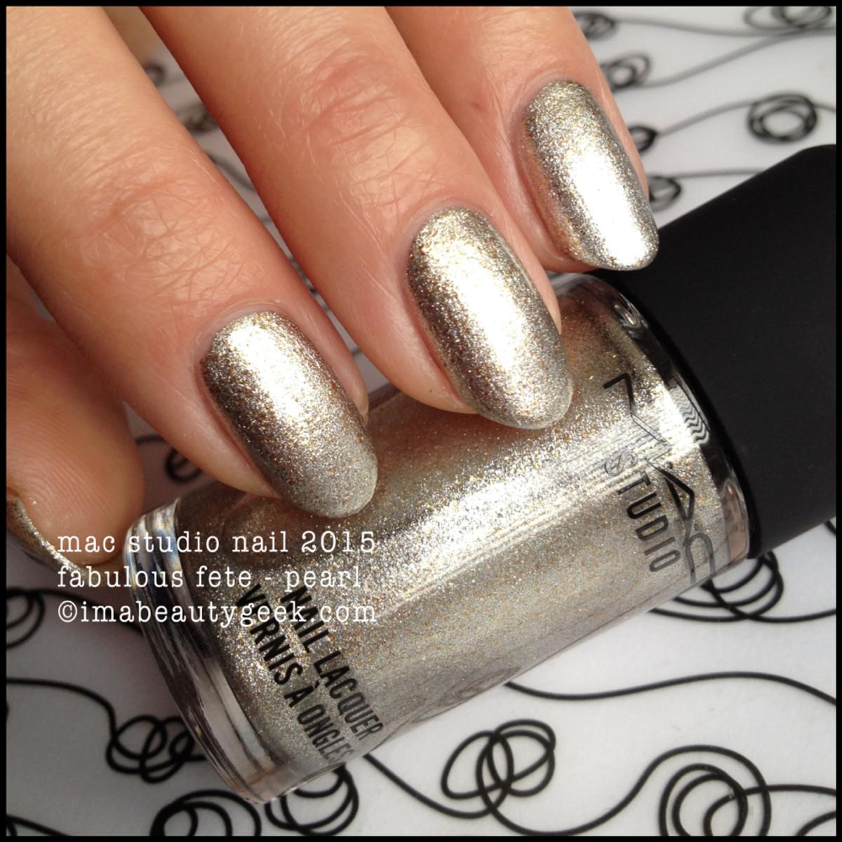 MAC Fabulous Fete Nail Lacquer 2015