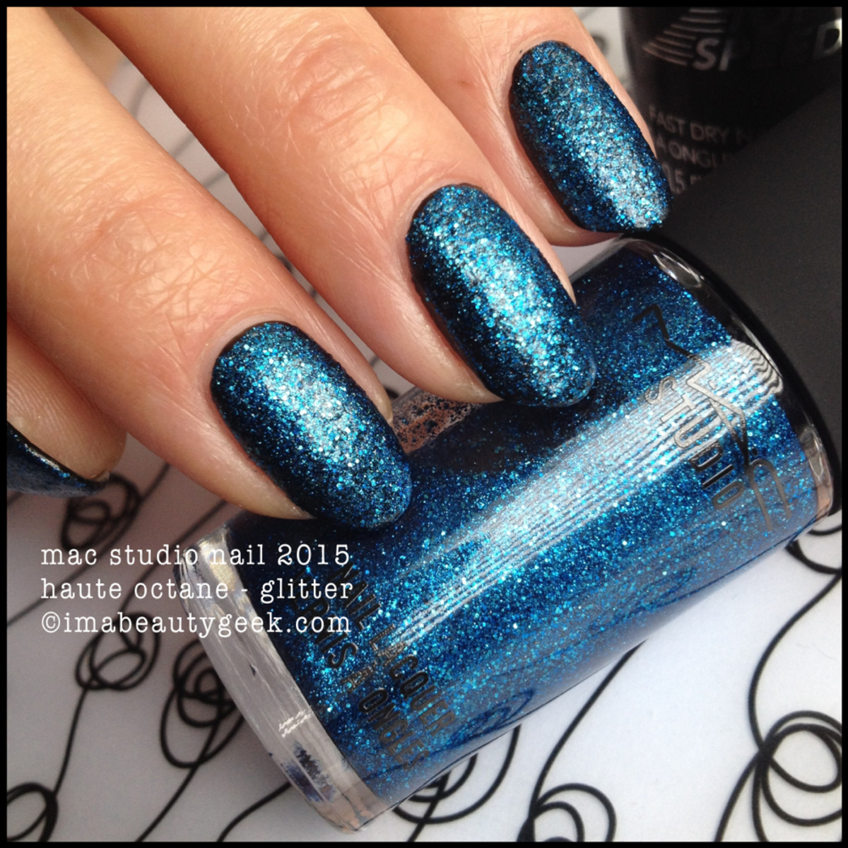 MAC Haute Octane Nail Polish 2015