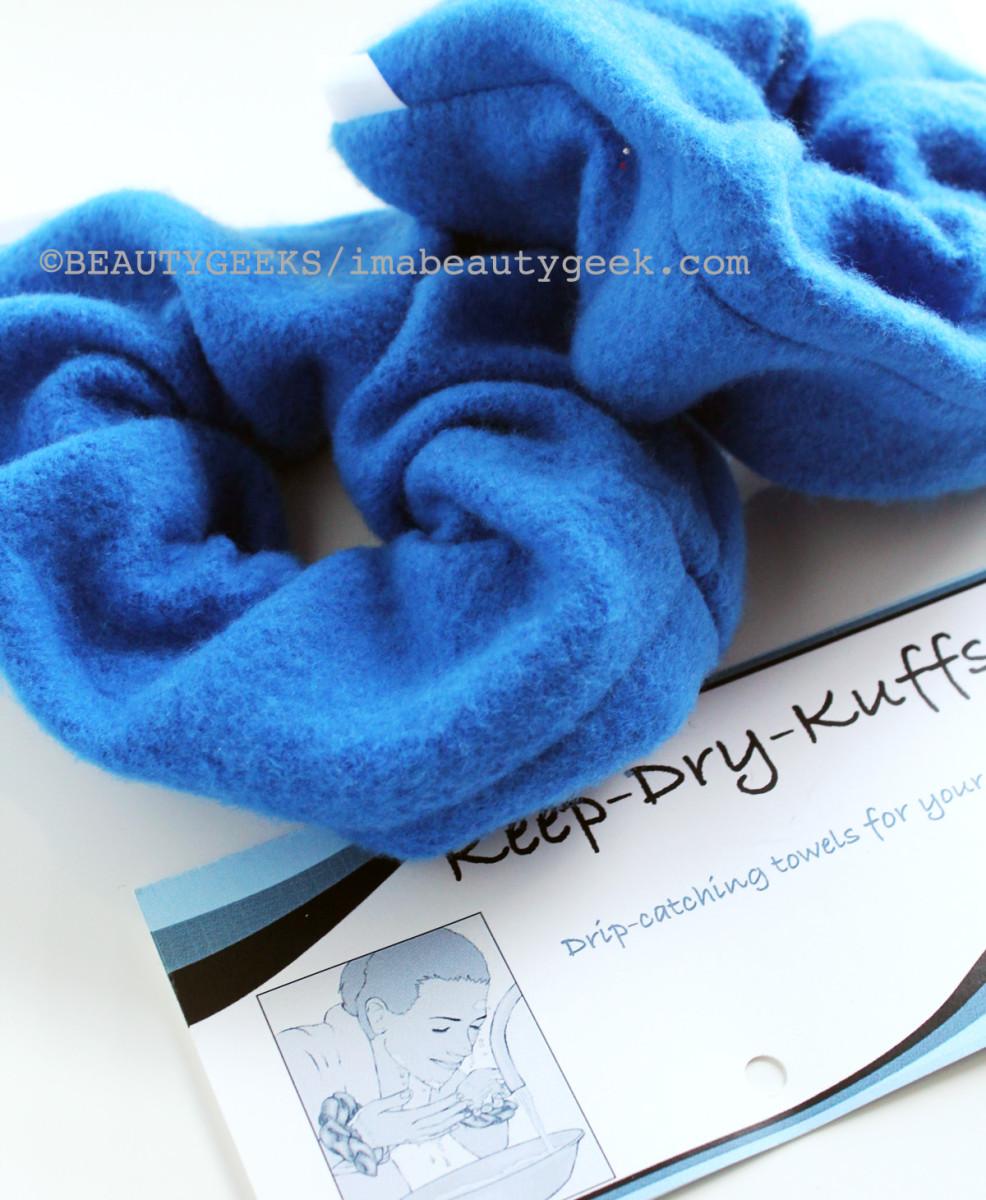 keep-dry kuffs: microfibre towel wristlets