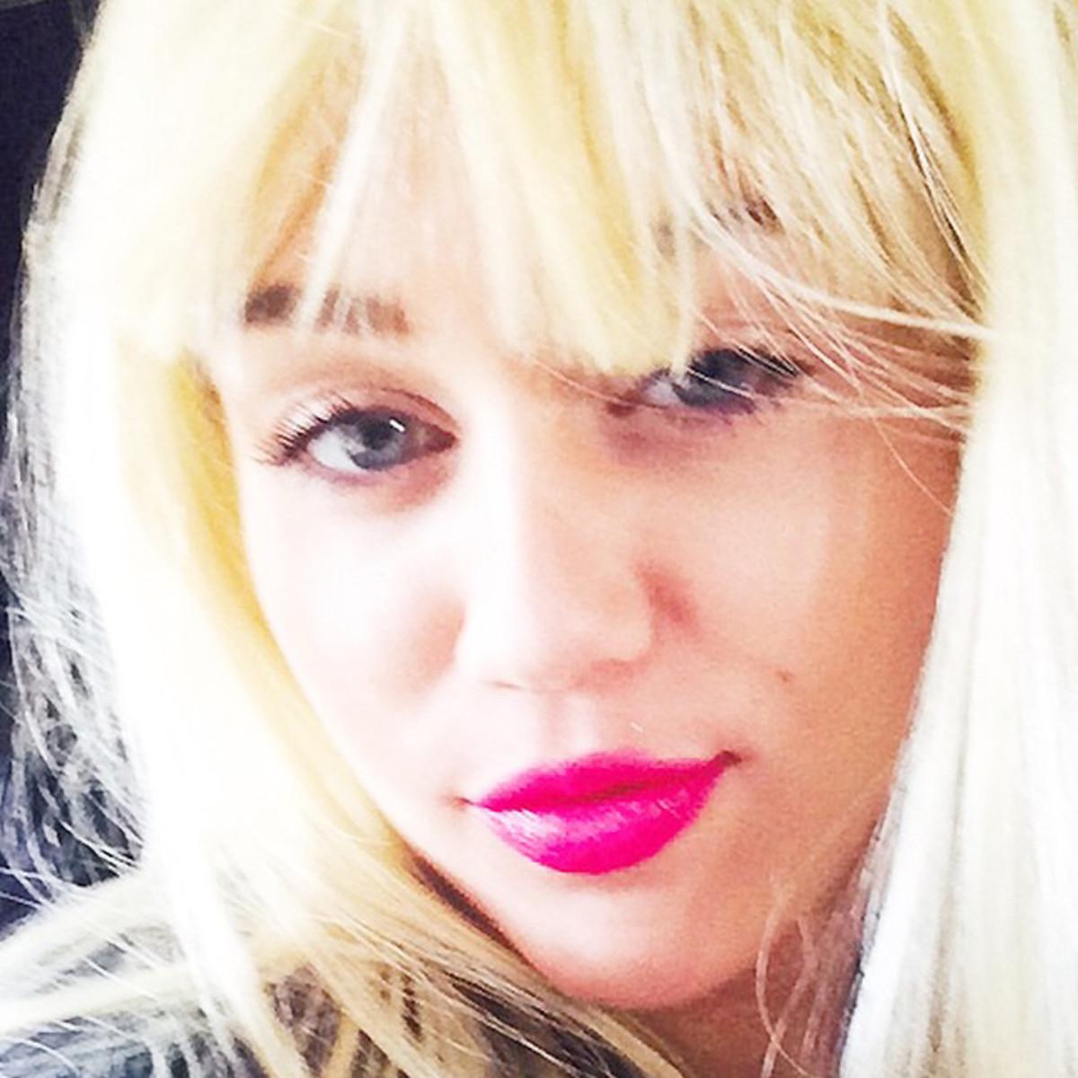 MAC Viva Glam Miley Cyrus_Miley Cyrus instagram_imabeautygeek.com